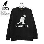 【希少!入手困難!】KANGOL(カンゴール)STANDARDPOINTCREW(スタンダードポイントクルー)トップススウェットスウェットシャツトレーナーLCK0020BLACK(ブラック)LCK0020GRAY(グレー)