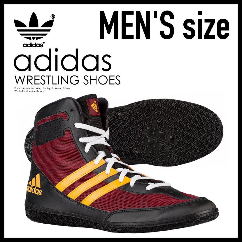 【希少!大人気!メンズ レスリングシューズ】 adidas(アディダス)MAT WIZARD.3 (マット ウィザード) WRESTLING SHOES ボクシング トレーニング CBURGU/CBLACK/COGOLD (バーガンディ/ブラック/ゴールド) AQ3071