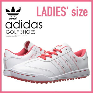 【希少!大人気!レディースゴルフシューズ】adidas(アディダス)JrADICROSSV(アディクロスV)WOMENSGOLFSHOESスパイクレスFTWWHT/FTWWHT/CORPNK(ホワイト/ピンク)F33534ENDLESSTRIP(エンドレストリップ)