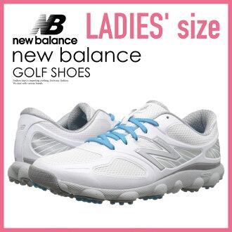 沒有NEW BALANCE(新平衡)NBGW1001 MINIMUS GOLF SHOES(小鱒魚高爾夫球鞋)WOMENS GOLF SHOES釘鞋的WHITE(白)NBGW1001 WHITE ENDLESS TRIP(永無休止的旅行)