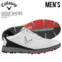 【希少!大人気!メンズ ゴルフシューズ】 CALLAWAY (キャロウェイ) BALBOA SL (バルボア) MENS ゴルフシューズ スパイクレス WHIT...
