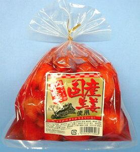 【国内産生姜使用】ノーカット ホール状の紅しょうが 国産 紅生姜 丸 250g (巾着袋)