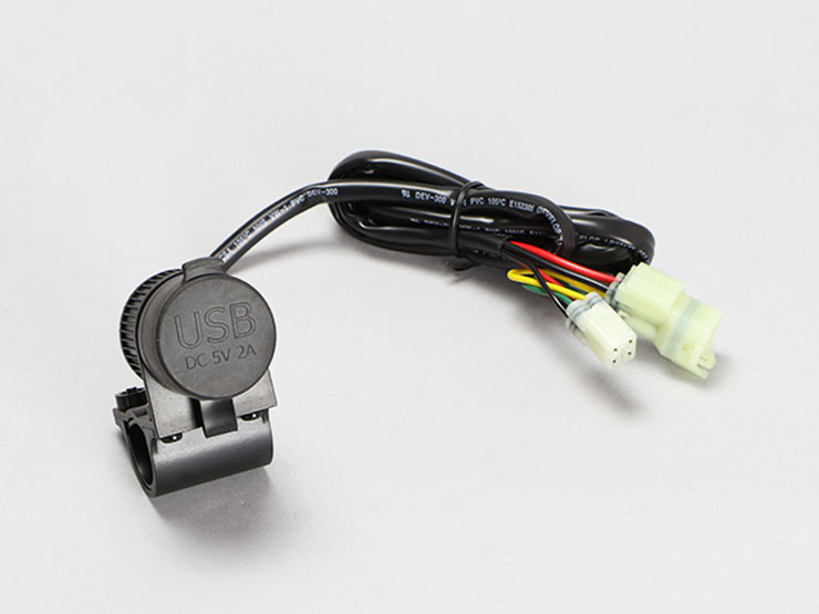 GROM グロム FORZA Si PCX('10.3〜'12.4) PCX('12.5〜'14.3) PCX150('12.4〜'14.4) 専用USBチャージャー