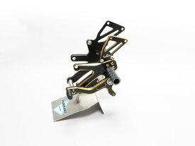 CBR250RR('17.5〜) バックステップキット (ブラック/ゴールド)