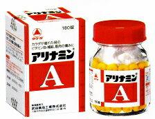 【第3類医薬品】アリナミンA 180錠【第3類医薬品】 錠剤【P25Apr15】