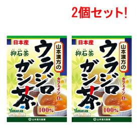 【山本漢方】【2個セット!】 ウラジロガシ茶 100% 5g×20包【リニューアルパッケージ!】