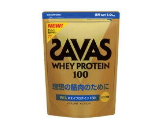 1.0 kg of ザバスホエイプロテイン 100 (vanilla taste)