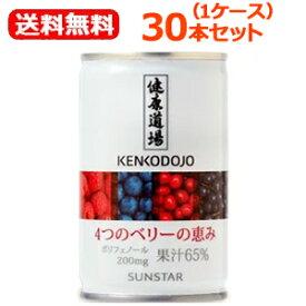 【送料無料!】【サンスター】健康道場4つのベリーの恵み 1缶160g×30本セット(1ケース)