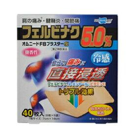 【第2類医薬品】【テイコクファルマケア】オムニードFBプラスターα40枚
