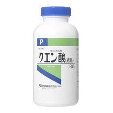 【健栄製薬】 【ケンエー】 クエン酸 (結晶)  P 500g【P25Apr15】