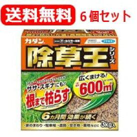 【送料無料!6セット!】【フマキラー】カダン 除草王 オールキラー粒剤 3kg