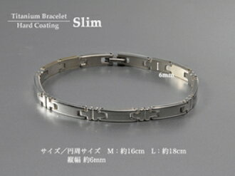 Phiten Titan brace hard coat slim M size approx. 16 cm * ordered goods fs3gm