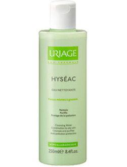 Uriage 教科 URIAGE HYSEAC) 清洗水 250 毫升 (洗面奶和擦只) fs04gm