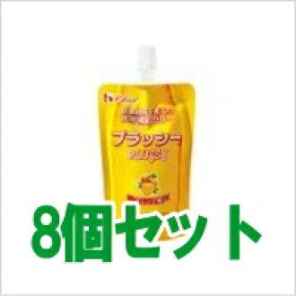 Water supply jelly so plassey Orange flavor 120 g 8 pieces set