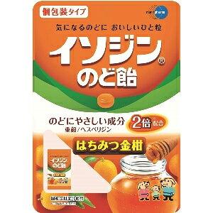イソジン のど飴 はちみつ金柑味 54gイソジンのど飴 ハチミツ金柑キンカン【ムンディファーマ】