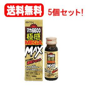 【送料無料!5個セット!】【井藤漢方製薬】マカ6600極感MEGA MAX 50ml×5