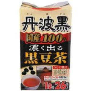 【大阪ぎょくろえん】【玉露園】丹波黒 黒豆茶 6g×26包【P25Apr15】