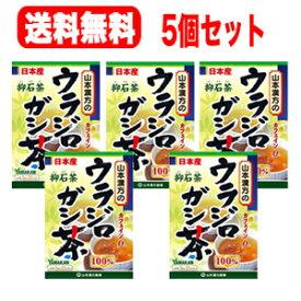 【送料無料!5個セット!】【山本漢方】ウラジロガシ茶 100% 5g×20包【リニューアルパッケージ!】