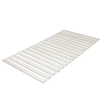 IRIS Ohyama roll Tung Slatted bed base mat KSM-100R Slatted bed base matte grates single folding futon Tung