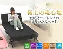 【あす楽対応】折りたたみベッド シングル OTB-TR アイリスオーヤマ 送料無料 折りたたみベッド 折り畳みベッド 反発…