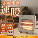 【あす楽】電気ストーブ ヒーター 800W EES-K800電気ストーブ ストーブ 電気 おしゃれ 小型 足元 オフィス 電気ヒー…