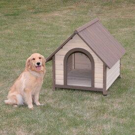 《犬小屋》ウッディ犬舎 WDK-900送料無料 [犬小屋 大型犬用 屋外用 木製 アイリスオーヤマ] おしゃれ irispoint