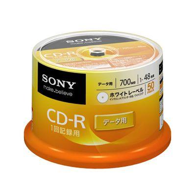 【送料無料】ソニーCD−Rスピンドル 50枚 50CDQ80GPWP おしゃれ