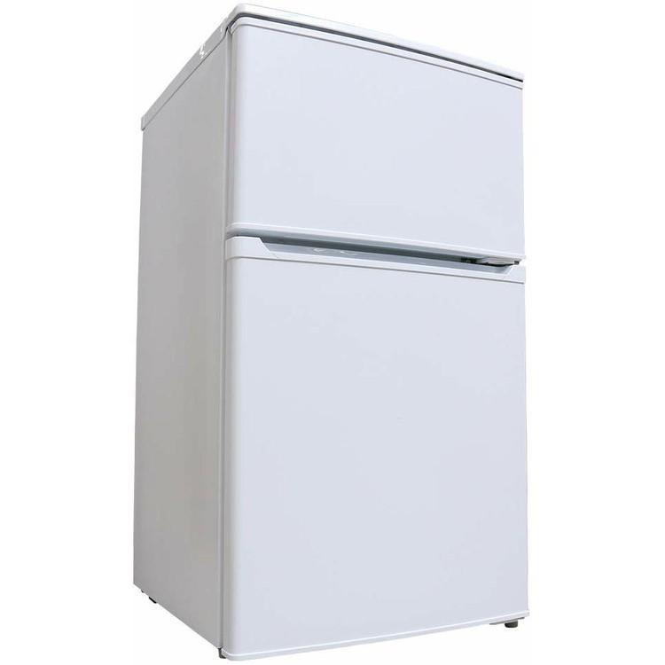 【あす楽】冷蔵庫 2ドア冷凍冷蔵庫 90L IRR-A09TW-W送料無料 冷蔵庫 一人暮らし 2ドア アイリスオーヤマ 直冷式 冷凍庫 冷凍 全90L ミニ冷蔵庫 新生活 食糧保存 おしゃれ れいぞうこ 小型 コンパクト 電子レンジ設置OK シンプル ホワイト 白【O】