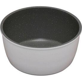 ダイヤモンドコートパン 鍋 18cm IH対応 ISN-P18 ホワイト&マーブル KITCHEN CHEFフライパン 鍋 キッチンシェフ セット コーティング ダイヤモンドコート ダイヤモンドコーティング 焦げ付かない IH IH対応 アイリスオーヤマ