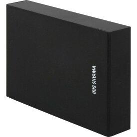 HDD 外付け テレビ 2TB HD-IR2-V1 ブラック テレビ録画用 外付けハードディスク ハードディスク 録画用 録画 縦置き 横置き 静音 コンパクト シンプル LUCA ルカ レコーダー USB 連動 アイリスオーヤマ