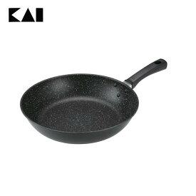 【フライパン IH対応】【B】軽量・高熱効率フライパンIH対応(28cm)【炒め鍋】貝印 000DW5630 おしゃれ
