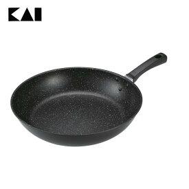 【フライパン】【B】軽量・高熱効率フライパン(32cm)【炒め鍋】貝印 000DW5639 おしゃれ