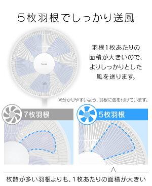 リビングメカ扇風機フラットガード・フラットベースホワイトKI-1775-Wテクノス扇風機リビングファンテクノスリビングテクノスファン扇風機リビングリビングテクノスファンテクノスリビング扇風機TEKNOS◆s18[lms]