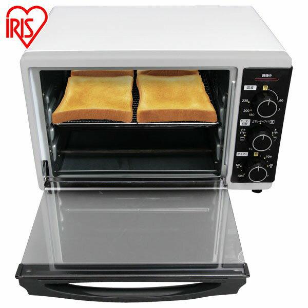 コンベクションオーブン FVC-D15A-W 送料無料 ノンフライオーブン 揚げ物 トースター コンベクション ヘルシー 食パン4枚 グリル オーブン ピザプレート付き ホワイト アイリスオーヤマ アイリス オイルカット 白 シンプル おしゃれ メーカー1年保証 あす楽対応