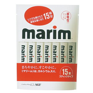 【882895】AGF マリームスティックタイプ 3g×15本おしゃれ