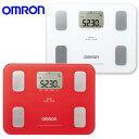 【在庫限り】【送料無料】オムロン (OMRON) 体重 体組成計 カラダスキャン HBF-251-R レッド/HBF-251-W ホワイト…