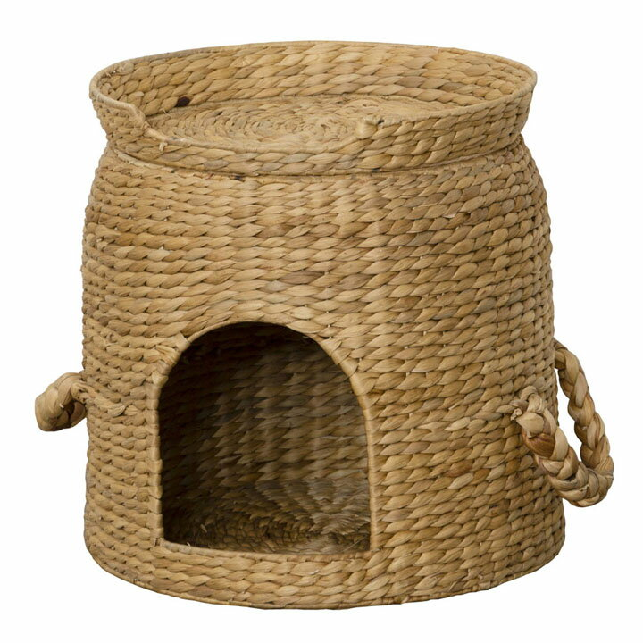 セパレートベッド付ちぐら 28647送料無料 猫ちぐら ねこちぐら 猫 キャットハウス ベッド付 【TD】【代引不可】◆ss50