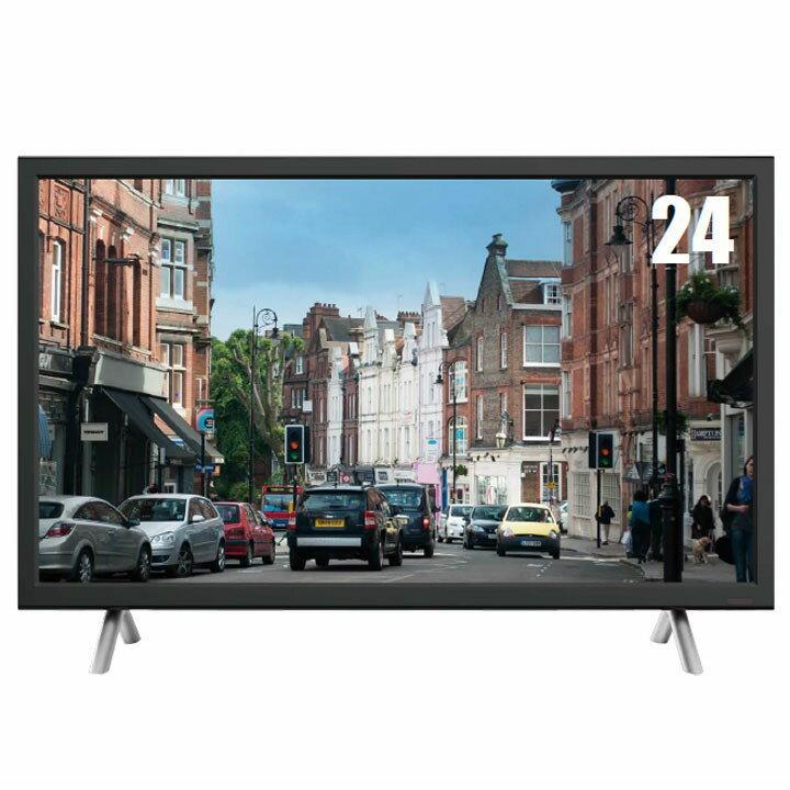 24型3波ダブルチューナーハイビジョンテレビ ブラック ZM-TV24LR送料無料 TV 液晶テレビ ハイビジョン 録画機能 レボリューション 【D】