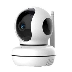 防犯カメラ EyeCloud 白 PNC-2送料無料 無線LAN接続 ホームセキュリティ 見守りカメラ 暗視 カメラ ペット 子供 介護 マイティ 【D】