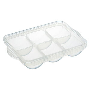 ≪ポイント5倍≫離乳食冷凍小分けトレー50ml×6 TRMR6ベビー 赤ちゃん 作り置き 食品保存 保存容器 食事 スケーター 【D】