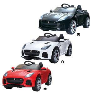 電動乗用カー ジャガー SVR QLS-5388-RD送料無料 乗用玩具 子ども 自動車 おもちゃ JAGUR エスアイエス スピーカー インテリア 車 SIS 赤 白 黒【D】