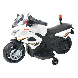 電動ポリスバイク BJC911 乗用玩具 子ども バイク おもちゃ 警察 エスアイエス アメリカン 遊び ポリス SIS 【D】
