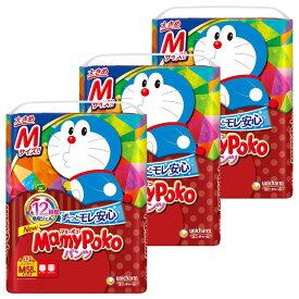 [3個セット]マミーポコパンツ M ドラえもん 58枚紙おむつ ベビー かわいい パンツ式 MamyPoko 赤ちゃん Mサイズ 夜 お出かけ 【D】