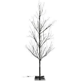 LEDブランチツリー 120CM ブラック 18199送料無料 クリスマスツリー ブランチツリー LED LEDライト イルミネーション クリスマス Xmas 北欧 不二貿易 【D】