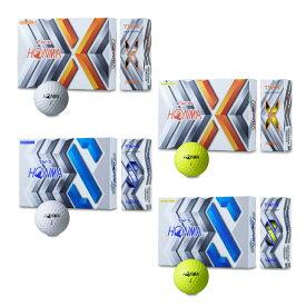 《エントリーでP6倍》ゴルフボール ホンマ tw-x twx tw-s tws 2020 本間ゴルフボール ホンマ ゴルフ ボール TW-X 1ダース(12球入) HONMA ホワイト イエロー