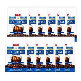 【12個セット】UCC ゴールドスペシャル アイスコーヒー 粉320g コーヒー レギュラーコーヒー コーヒードリンク アイスコーヒー 粉 カフェ コク ブラック 本格 大容量 UCC 【D】 【代引不可】
