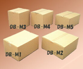 段ボールボックス(ダンボール) DB-M4【幅45×奥行35×高さ33(cm)】 アイリスオーヤマ (ダンボール箱/梱包資材/引越しや衣替えに便利/収納家具/食器/家電の整理に)