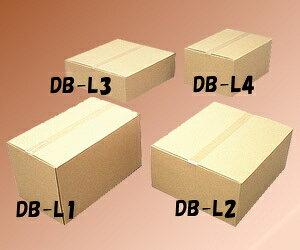 段ボールボックス(ダンボール) DB-L4【幅66×奥行44×高さ29.6(cm)】 アイリスオーヤマ (ダンボール箱/梱包資材/引越しや衣替えに便利/収納家具/食器/家電の整理に)■2
