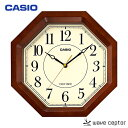 CASIO〔カシオ〕電波掛け時計 IQ-1106J-5JF【D】[CAWT]【●2】
