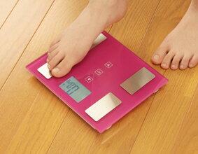 体重計体脂肪計体組成計IMA-001送料無料白黒ピンクグリーンホワイトブラックヘルスメーター体重体脂肪内臓脂肪ダイエット健康体組計コンパクトデジタルシンプル健康維持体脂肪率プレゼントあす楽